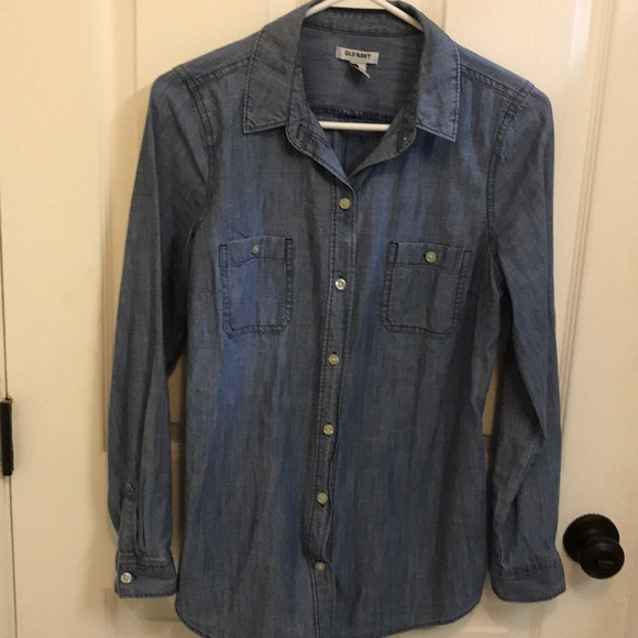 Old Navy Tops - Old Navy denim button up